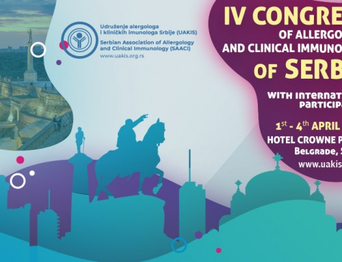 IV CONGRESS OF ALLERGOLOGY AND CLINICAL IMMUNOLOGY OF SERBIA WITH INTERNATIONAL PARTICIPATION